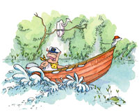 Cat Chapman NZ illustrator of childrens books in ink, pen, water colour, design, photography