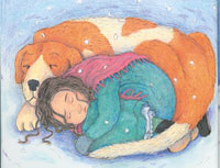 Christine Ross artists and children book illustrator New Zealand